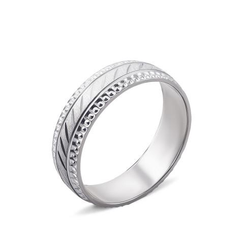 Обручальное кольцо с алмазной гранью (ОС-5019)
