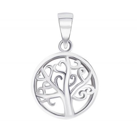 Серебряная подвеска Дерево (1PE66098)