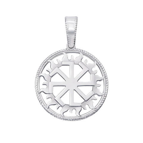 Серебряная подвеска-оберег «Колядник» (70309/1)