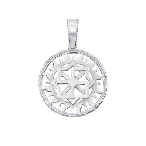 Серебряная подвеска-оберег «Молвинец» (с70308)