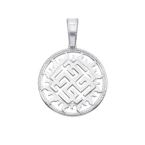 Серебряная подвеска-оберег «Родимич» (с70313)