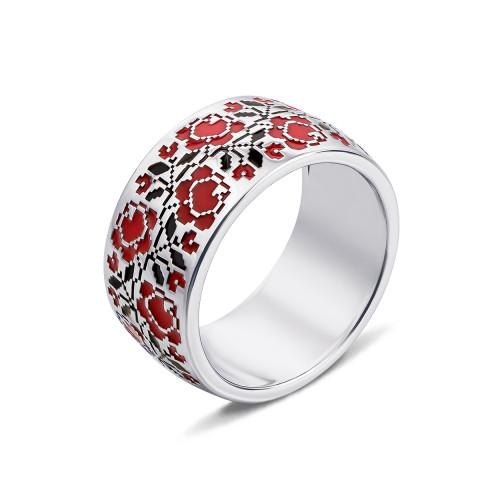 Серебряное кольцо «Роза» (00774/12/1/355)