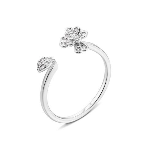 Серебряное кольцо с фианитами (1RI51365/0-R)