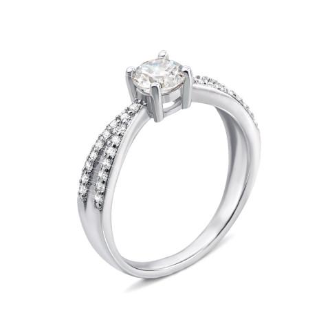 Серебряное кольцо с фианитами (1RI58245-R)