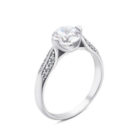 Серебряное кольцо с фианитами (1RI58495-R/12/1)