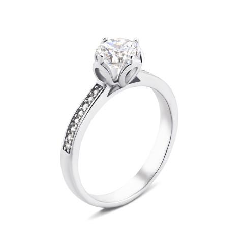 Серебряное кольцо с фианитами (1RI59968)