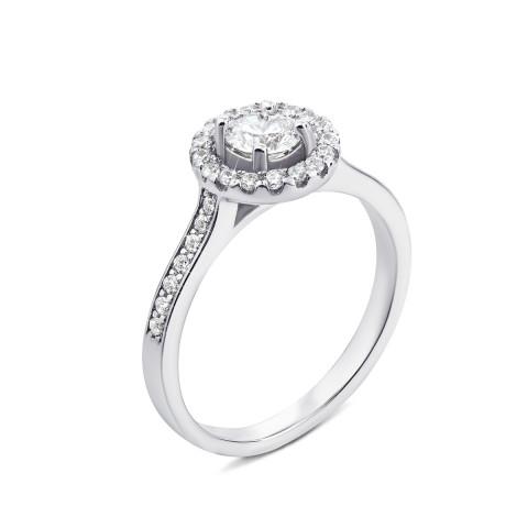 Серебряное кольцо с фианитами (1RI60296-R/12/1)
