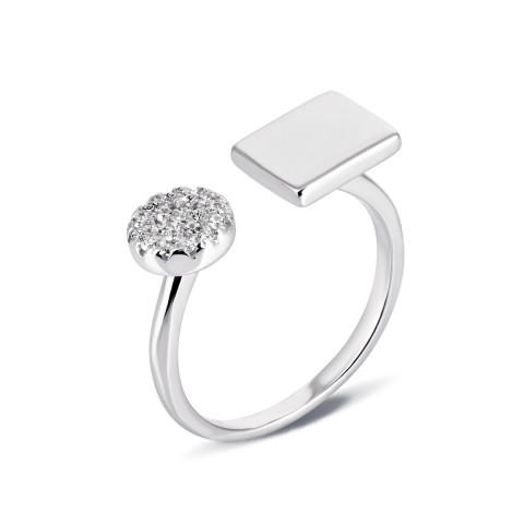Серебряное кольцо с фианитами (К2Ф/2046)