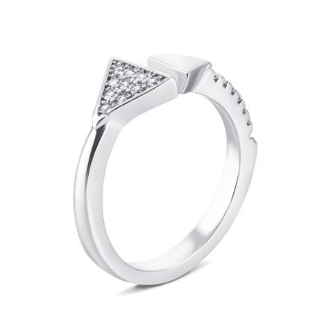 Серебряное кольцо с фианитами (LR1651)