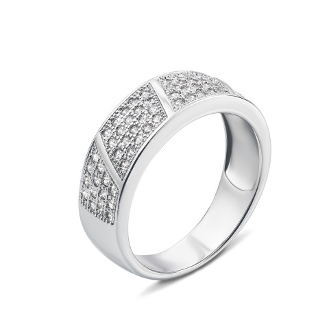 Серебряное кольцо с фианитами (PRS1520-R)
