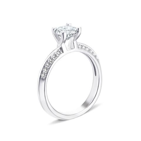 Серебряное кольцо с фианитами (PRS1912-R/12/1)