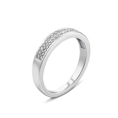 Серебряное кольцо с фианитами (PSS0807-R)