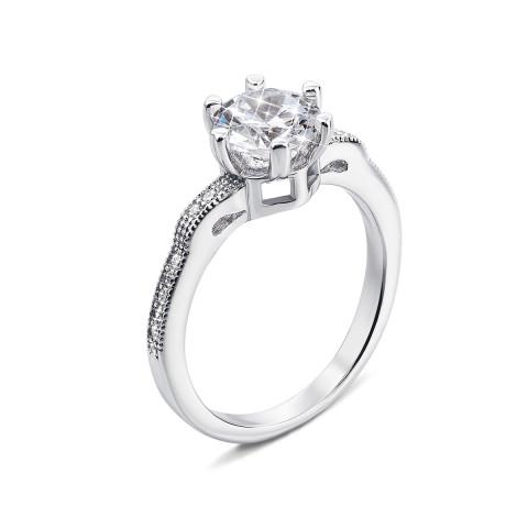 Серебряное кольцо с фианитами (PSS0918-R)