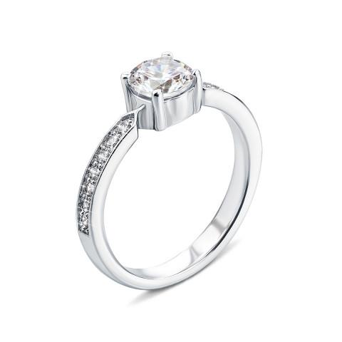 Серебряное кольцо с фианитами (PSS1076-R)