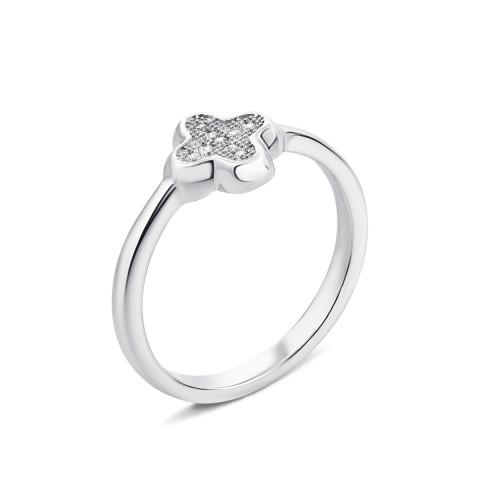 Серебряное кольцо с фианитами (PSS1095-R/12/1)