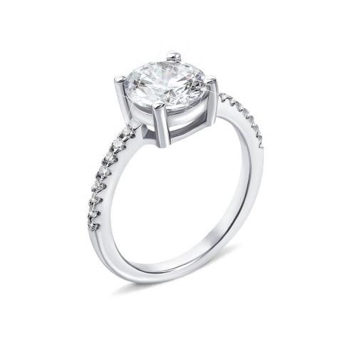 Серебряное кольцо с фианитами (PSS1118-R/12/1)