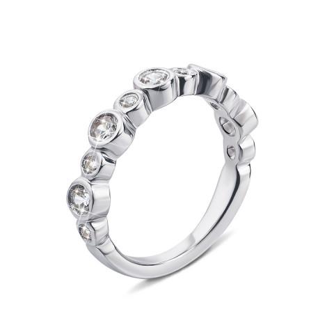 Серебряное кольцо с фианитами (PRS1477-R)