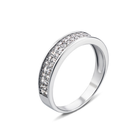 Серебряное кольцо с фианитами (SJ15057-R)