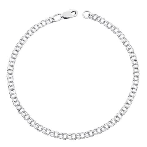Серебряный браслет (07066-5-5/12 (с07400/5)