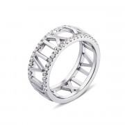 Серебряное кольцо с фианитами (PSS1009-R)