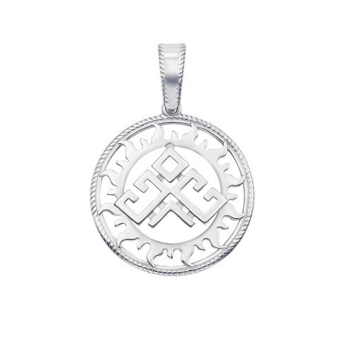 Срібна підвіска-оберіг «Рожаниця» (35015/12/1)