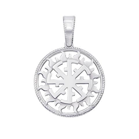 Срібна підвіска-оберіг «Світовіт» (с70311/1)