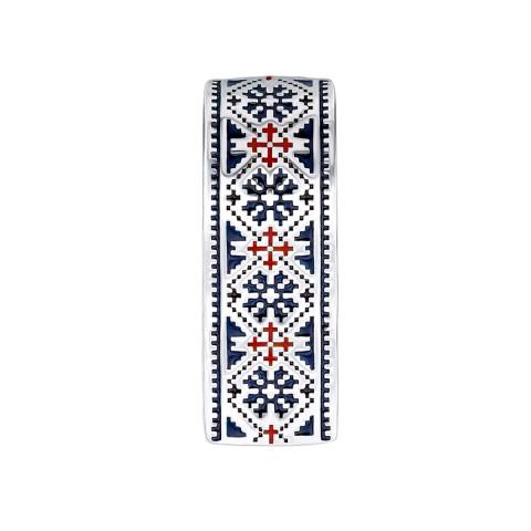 Срібна підвіска «Ружа» (с35044/ск)