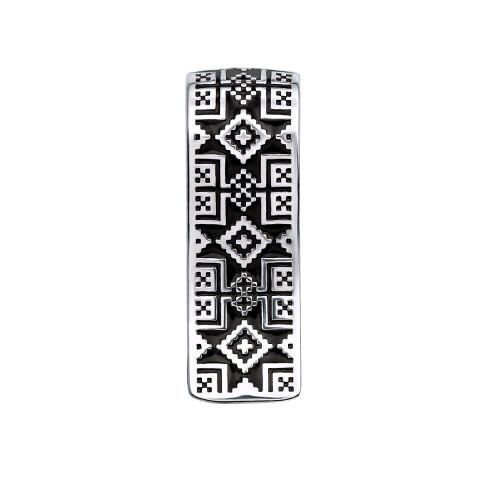 Срібна підвіска «Зірка Алатир» (35043/12/1/389)