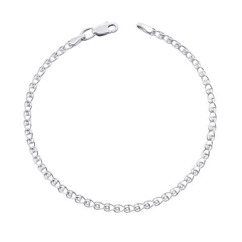 Срібний браслет (77937-4-8/12 (с77937/4)